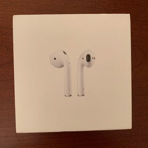 Airpod and iphone boxes